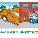 【画像】苦手な縦列駐車を克服できる! 障害物までの距離を音と光でチェック