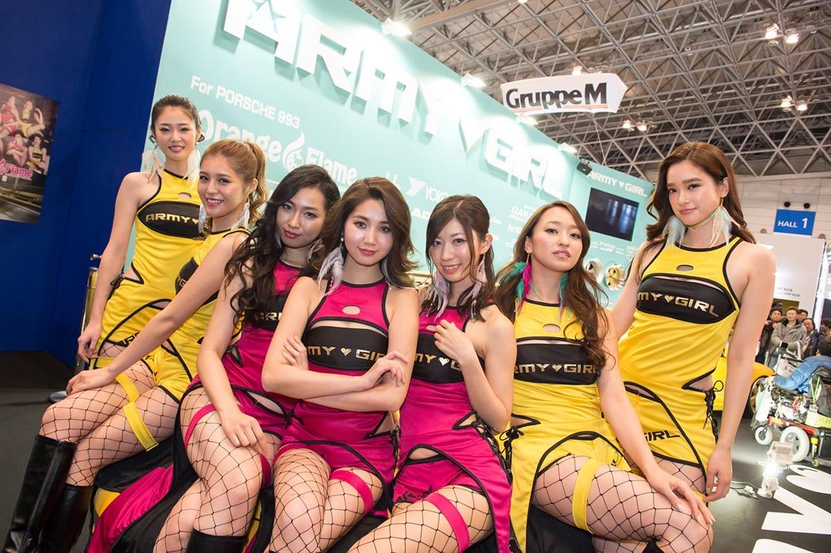 東京オートサロン2018 キャンギャル レースクイーン セクシー