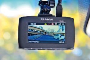 【2018年に買うべきドライブレコーダー9選】多彩な機能と使い勝手に優れた最上級モデル「PAPAGO!」