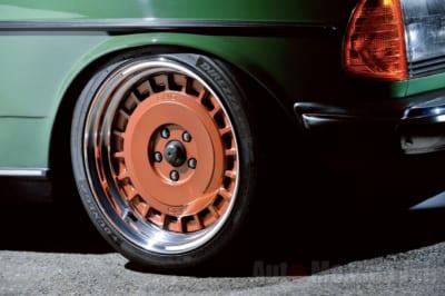 メルセデスベンツ280E、旧車メイク、W123、旧車メイク