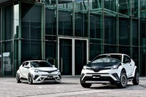 C-HRは上げ or 下げ? SUVメイクの新生が異なる2スタイルを提案