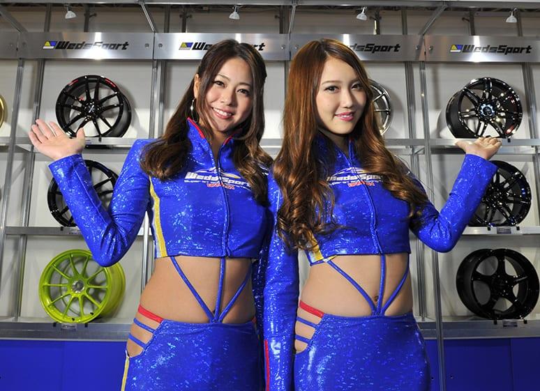 さらなる進化を見せる「ウェッズ」の新作ホイールを東京オートサロンで直撃!