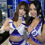 【画像】百花繚乱!美形・美乳ギャルをいち早くお届け!東京オートサロン2018