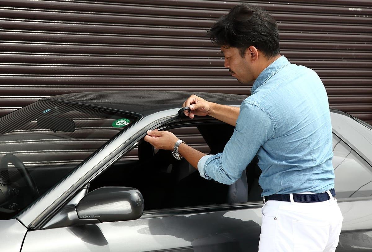 ダイコーゴム リテーナーリペアラバー ウェザーストリップ R32 GT-R 補修