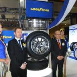 【画像】グッドイヤーが静粛性を高めた2種類の新作タイヤを発表【東京オートサロン2018】