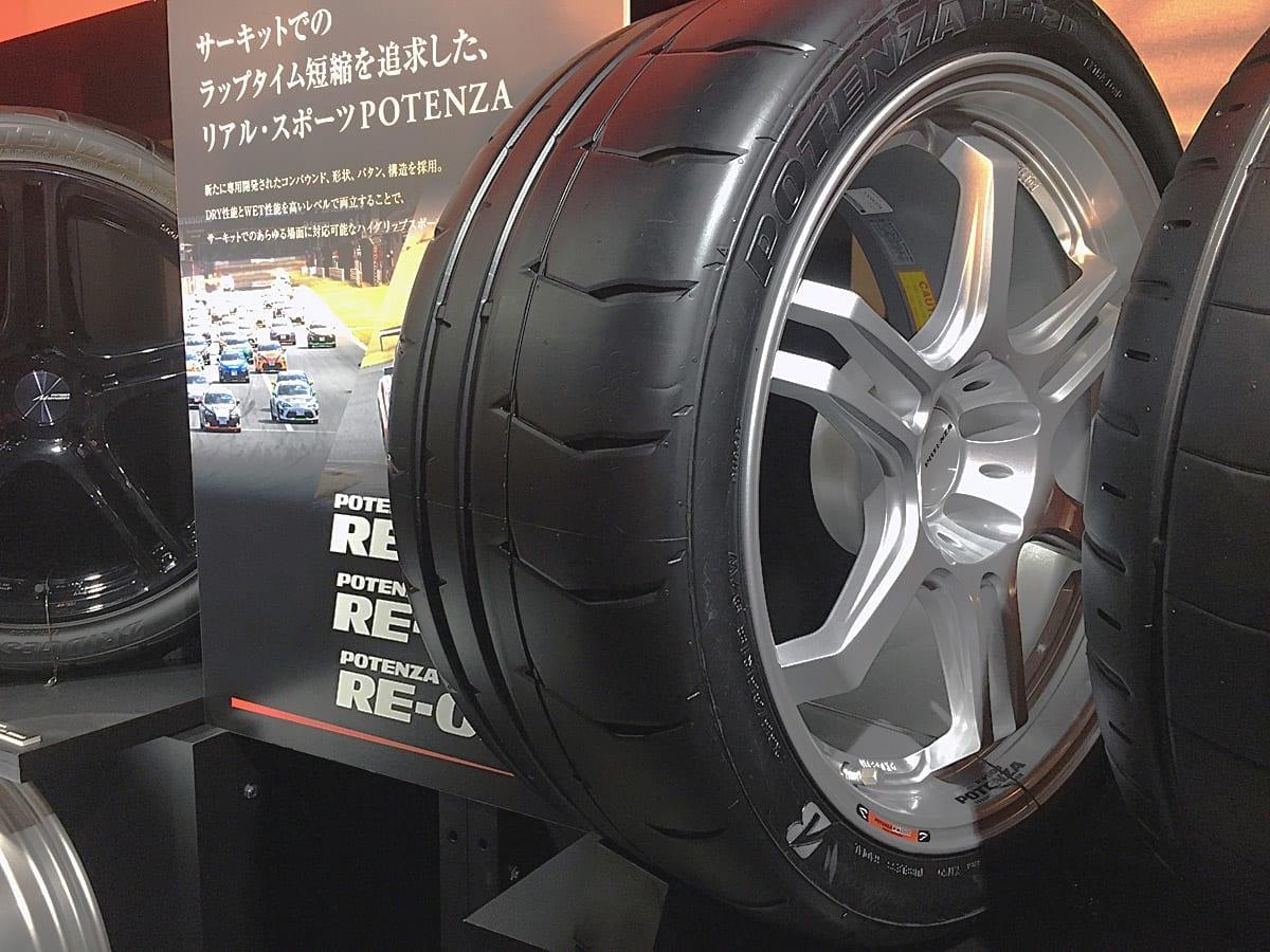 サーキット中・上級者向け新作「ポテンザRE-12D」が登場!【東京オートサロン2018】