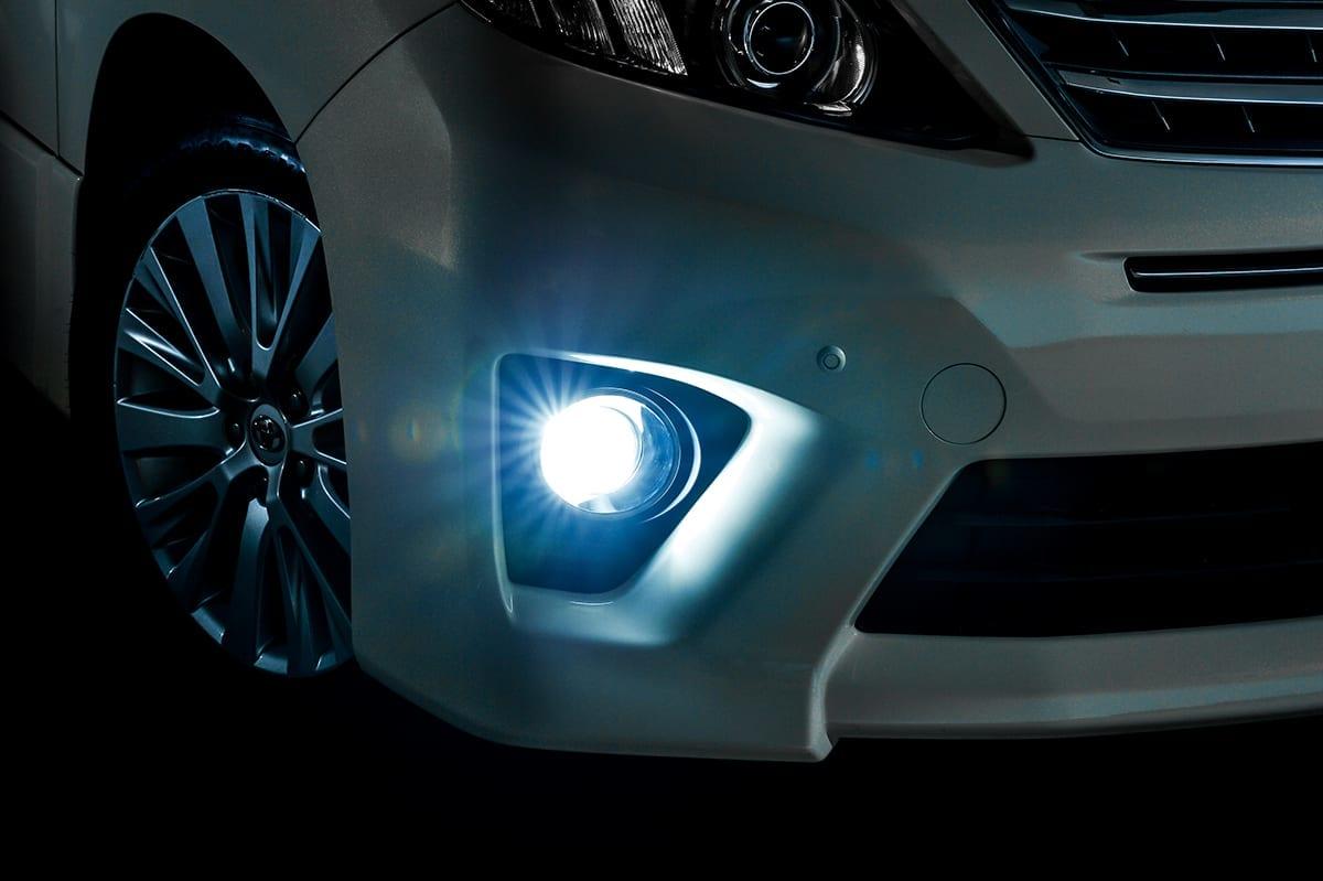 レディストEZ、ジュナック、LEDフォグランプ、簡単、取り付け