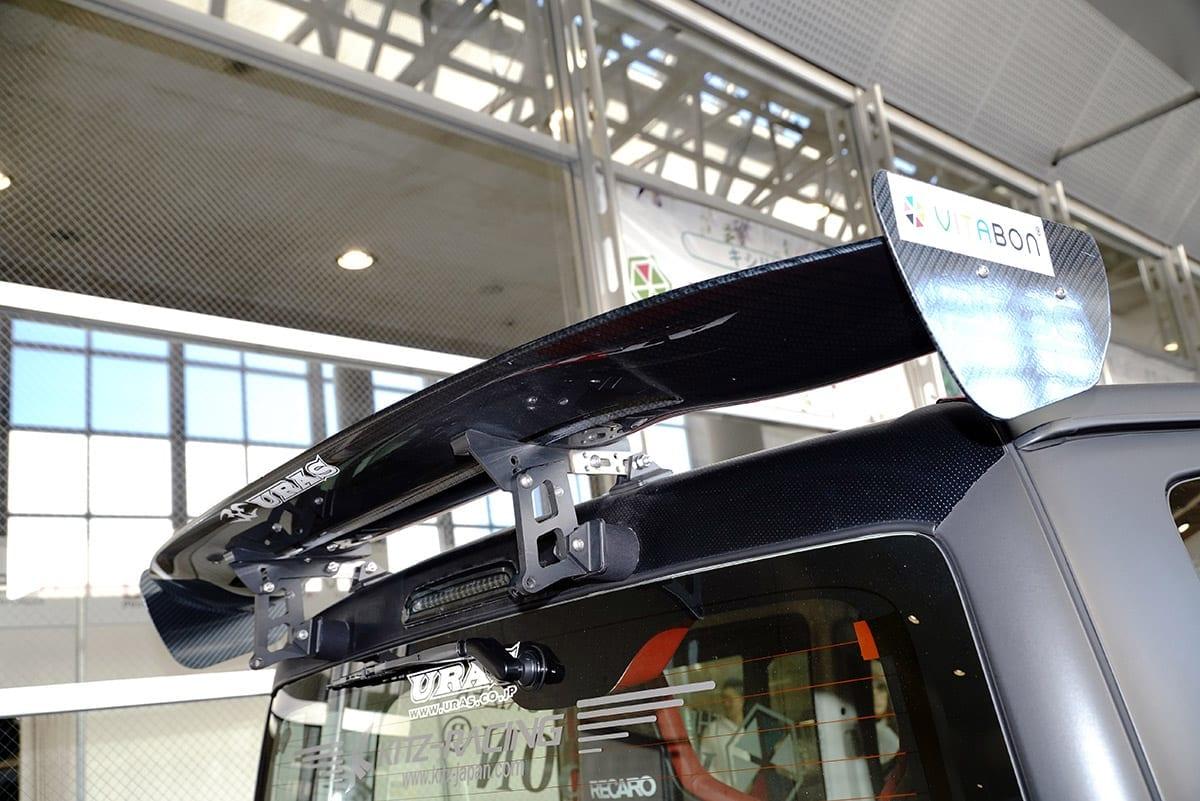 東京オートサロン2018 ビタボン ハイエース GT-R エンジンスワップ