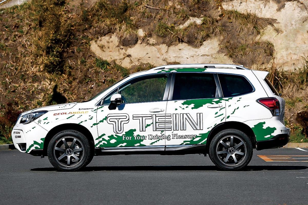 テイン TEIN 車高調 SUV 車高アップ 4×4damper