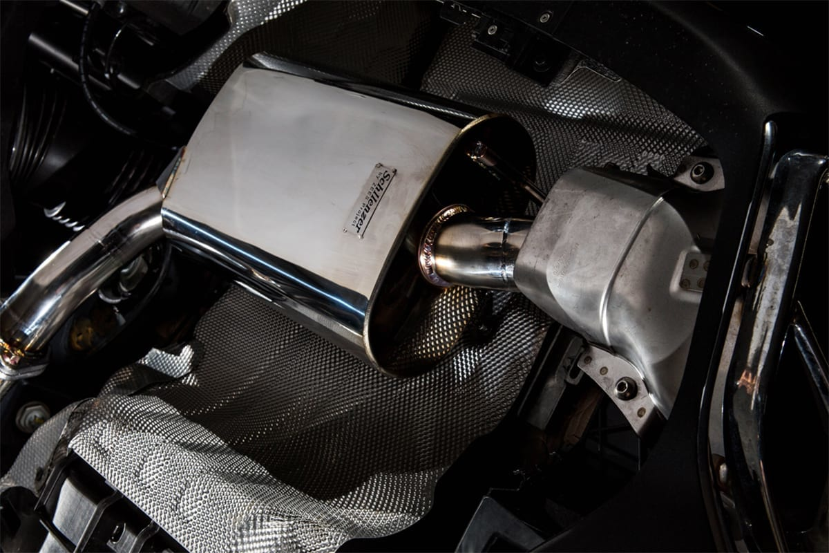 Schllenzer zeesproject マフラー AMG E43 exhaust