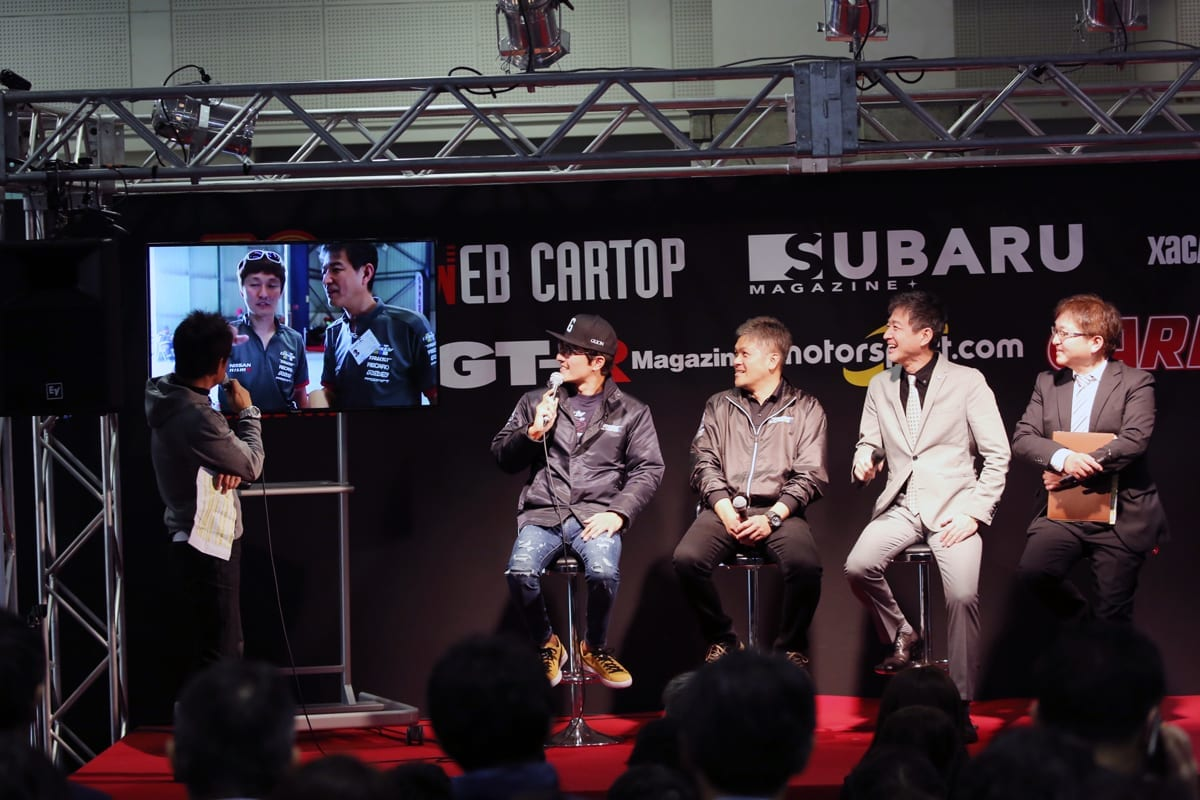 トラスト 日産自動車 田村宏志 川畑真人 GT-R 大阪オートメッセ2018