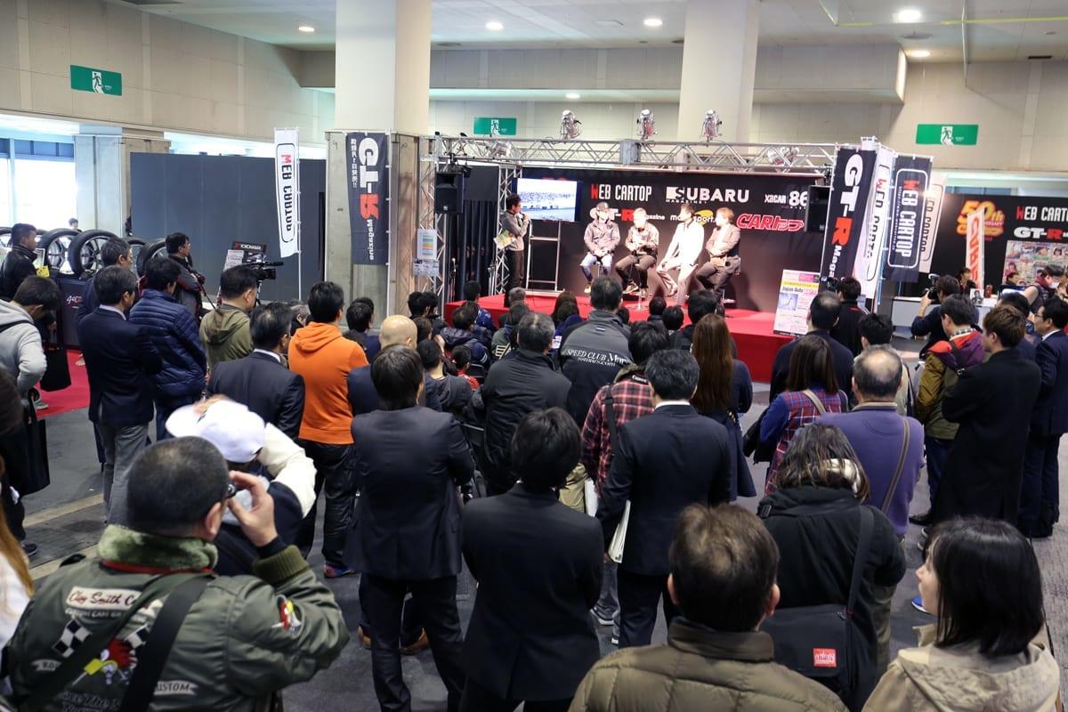 「TRUST」&「日産自動車」が夢の共演 【大阪オートメッセ2018】