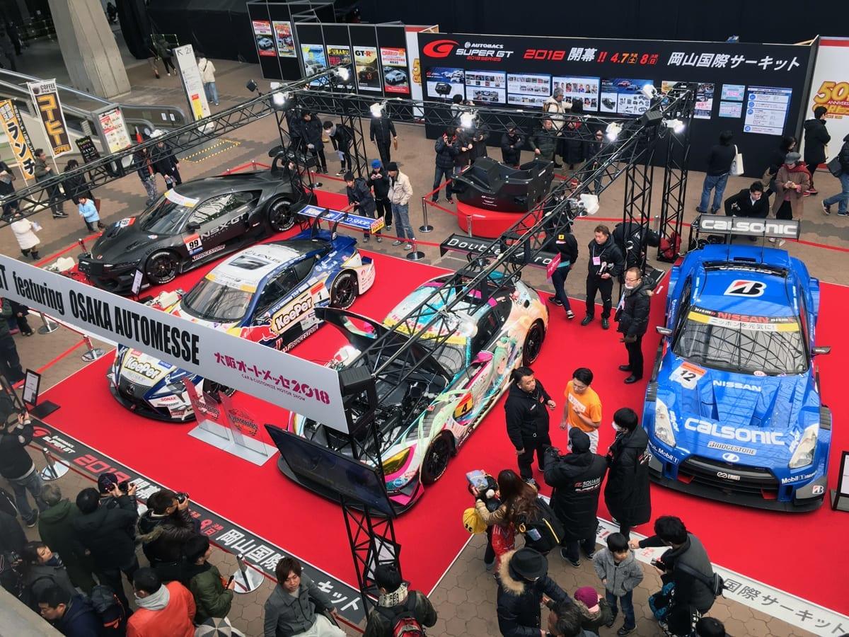 日産が2018年の「スーパーGT」モータースポーツ活動を発表