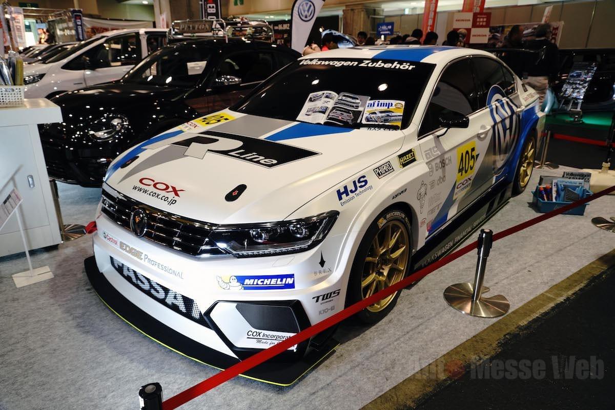 フォルクスワーゲンのセダン「パサート」がGT3規格のレーシングカーに変身したら?