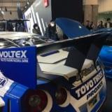 【画像】R35型GT-Rのドリフト世界王者マシン降臨!【大阪オートメッセ2018】