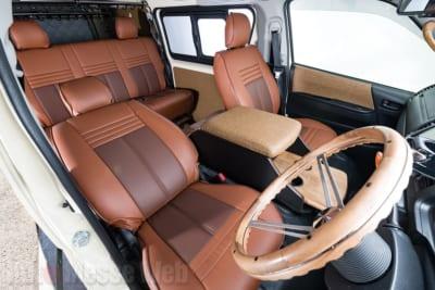 ガレージフジ、ガレージフジスペシャルオーダーカー、アメリカンスタイル、上げ系インテリアコンプリート