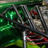 【画像】ジムニーにアメ車のV8エンジン搭載!スーパーチャージャー+NOSも投入したリアルモンスター【大阪オートメッセ2018】