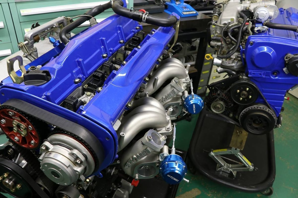エキゾーストマニホールド エキマニ RB26DETT スカイライン GT-R R32 R33 R34 東名パワード