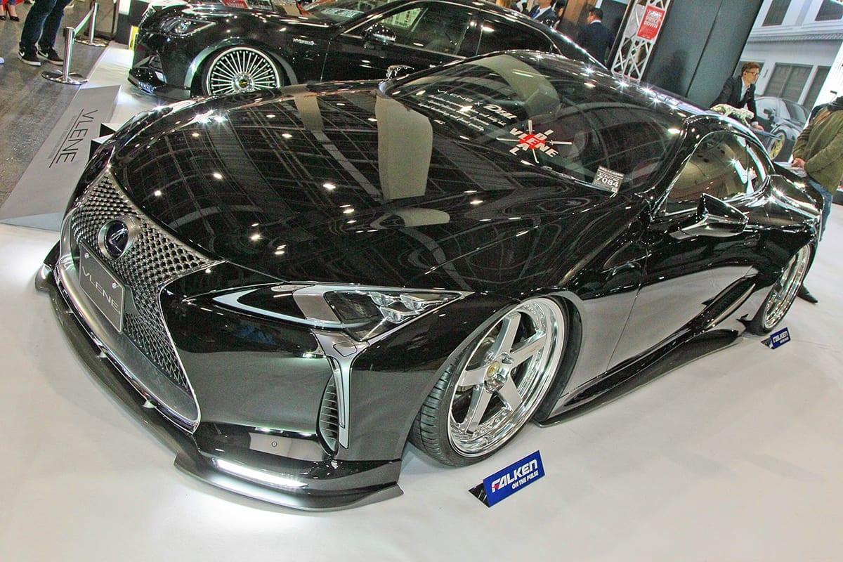 VLENE SILVER BACK ブレーン 大阪オートメッセ ジャイロ GT-R LEXUS LC