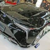 【画像】ホンダの3輪車からレクサスLCまで、カッコ良さを追求するカスタムパーツ提案