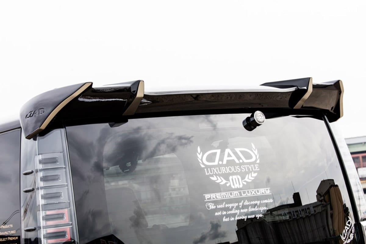DAD D.A.D ギャルソン ヴォクシー 80系 大阪オートメッセ2018