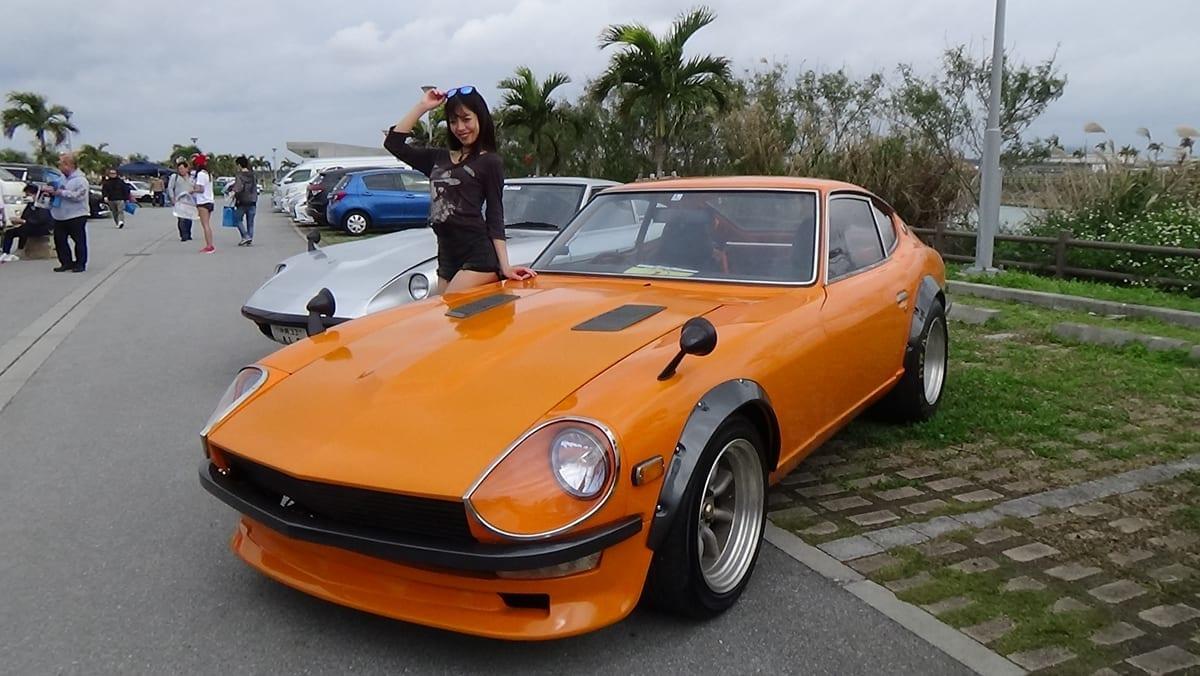 沖縄カスタムカーショー2018、大阪オートメッセ2018、カスタムカー、南唯莉