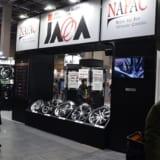 「JAWA」認証ステッカーが高性能ホイールの証【大阪オートメッセ2018】
