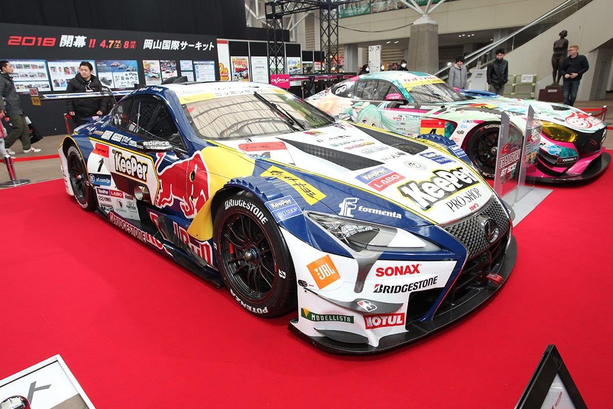 スーパーGT SUPER GT 2018 GT500 大阪オートメッセ2018