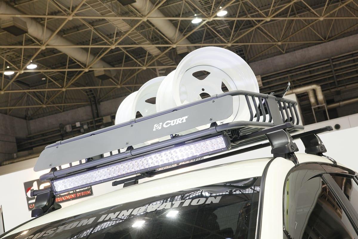 日産 リーフ CLS ESB 上げ系 大阪オートメッセ2018