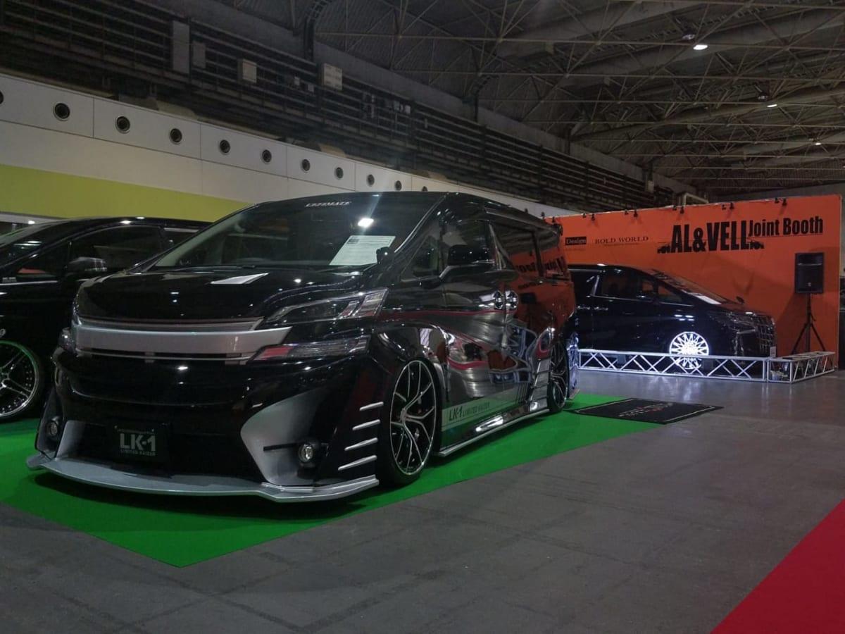 アフェクション カイザー ヴェルファイア ホイール 大阪オートメッセ2018