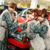 【画像】「フレックスガール」とびきりカワイイ3人組の魅力に迫る!【大阪オートメッセ2018】