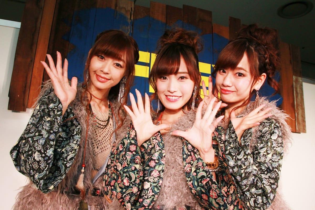 「フレックスガール」とびきりカワイイ3人組の魅力に迫る!【大阪オートメッセ2018】