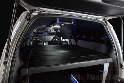 ホットスタイル、ライティングコンプリート、豪華内装、スタイリッシュインテリア、LEDインテリア、2段ベッド