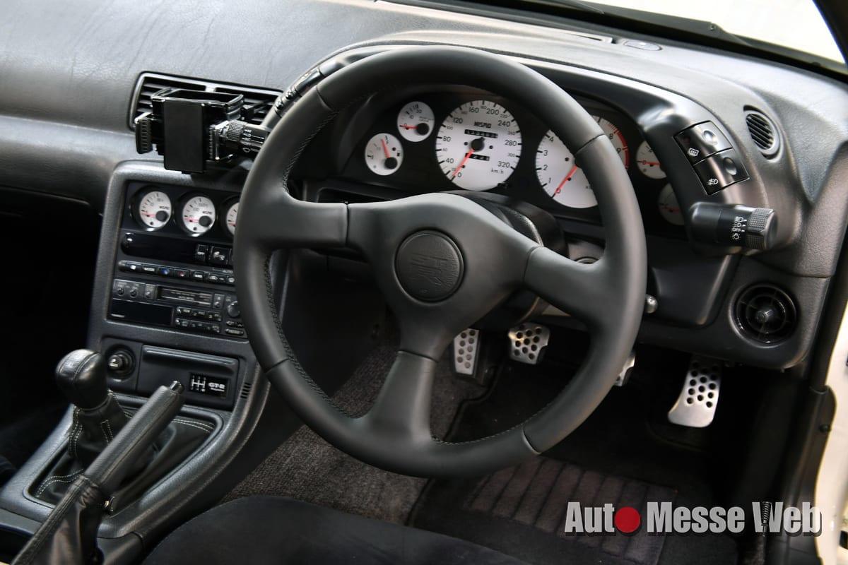 GT-Rマガジン、gt-r magazine、ステアリング、R32 GT-R、ハンドル