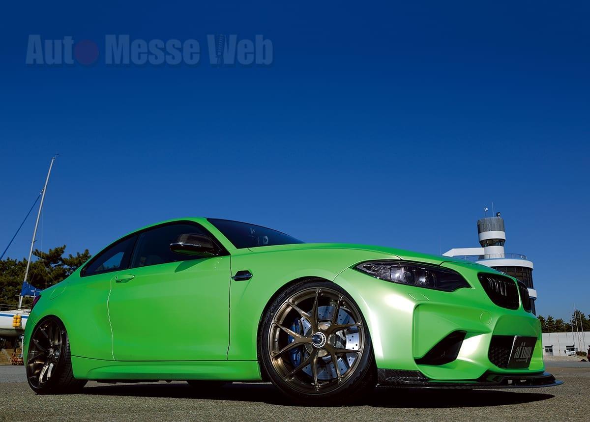 """「買い物ついでにサーキットでも走ろう」を可能にした小粋なハイパワー""""BMW M2″"""