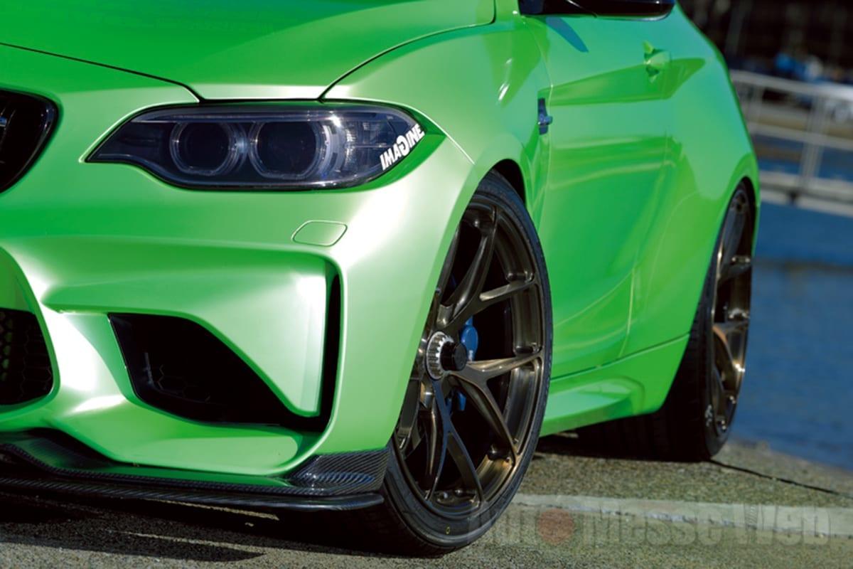 BMW M2、FLEX BRACE、BCフォージド、KW、レムス、ドライブ、愛媛