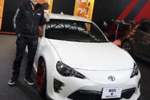 レーシングドライバー織戸選手が創出した「トヨタ86用エアロパーツ」