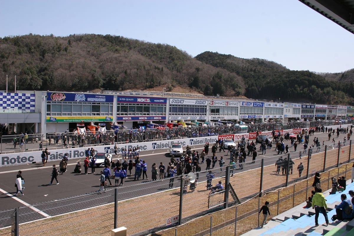 岡山国際サーキット、ファン感謝デー、2018、SUPER GT、合同テスト