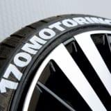 【画像】貼り付け&ラバータイプで「タイヤのレタリング」をグッと身近に!