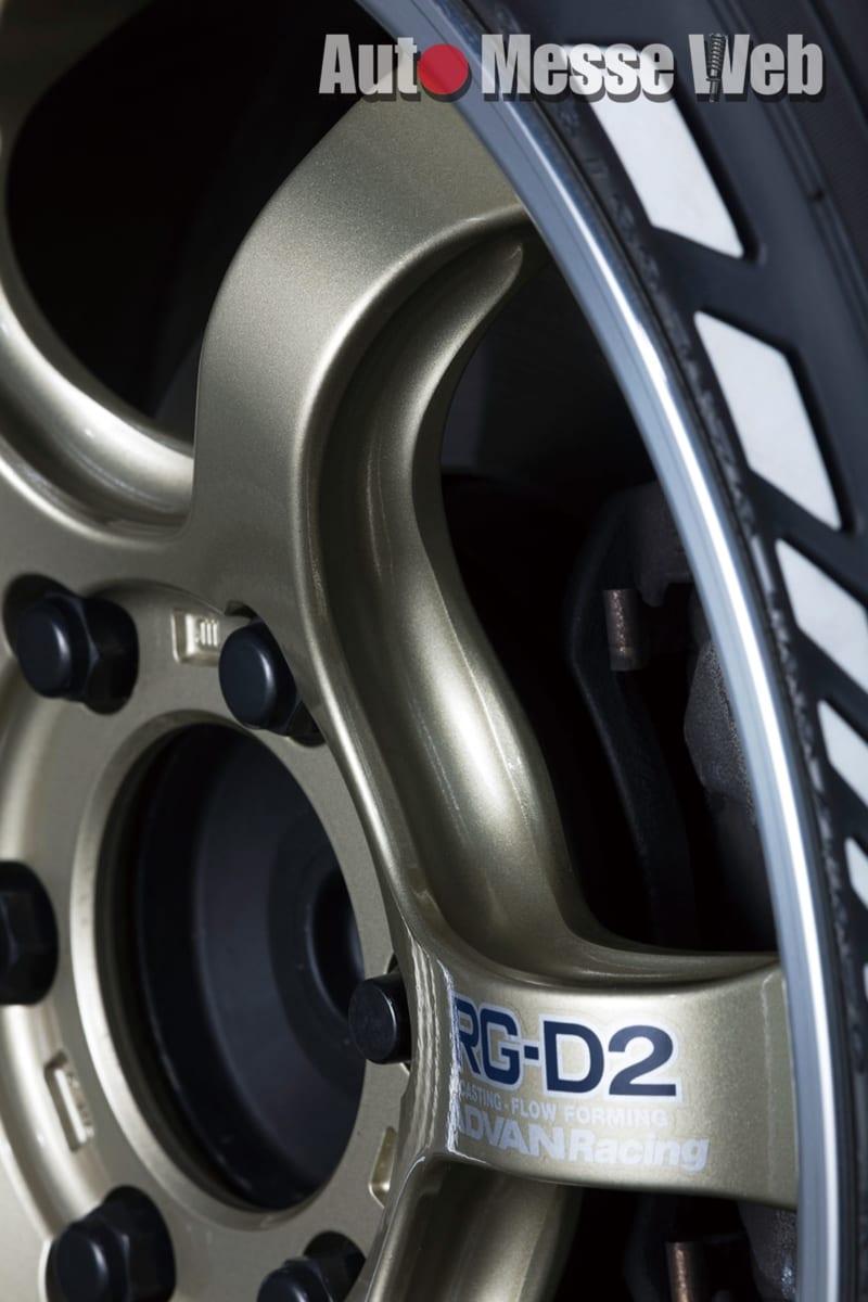 ADVAN RACING RG-D2、VOLK RACING TE37、鍛造、スポーツホイール