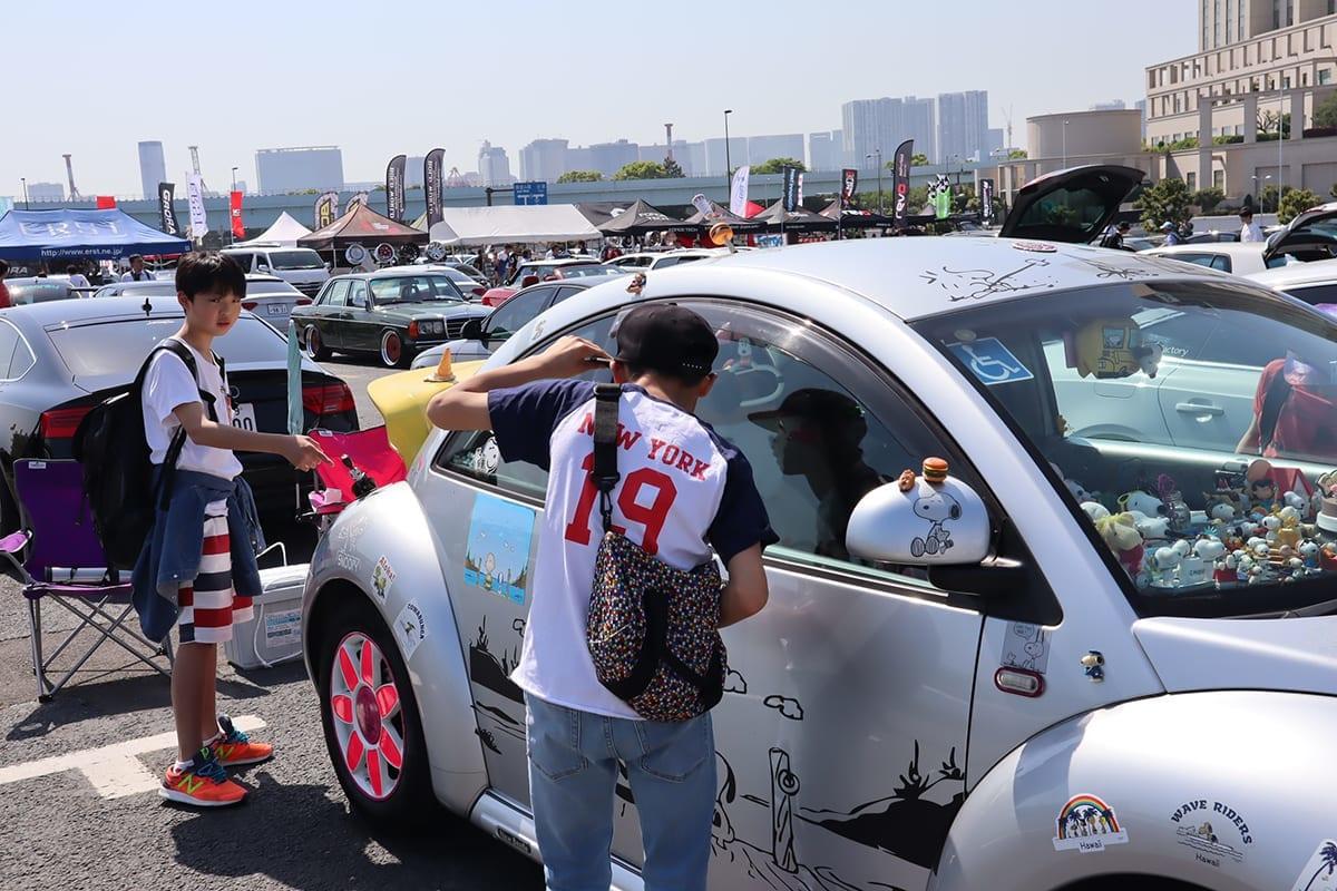 afimp、afimpスーパーカーニバル2018、スーパーカーニバル2018、東京、お台場、VW、NEWビートル、痛車