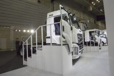 ジャパントラックショー2018、いすゞ自動車、日野自動車、UDトラック・バス、IVECO S.p.A、イベコ)