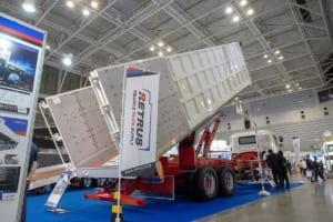 展示トラックのスケールも半端なし! ドライバー必見の便利グッズ&最新情報