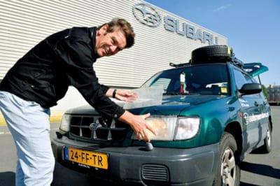 SUBARU、スバルフォレスター、50万キロ走破、オランダから里帰り
