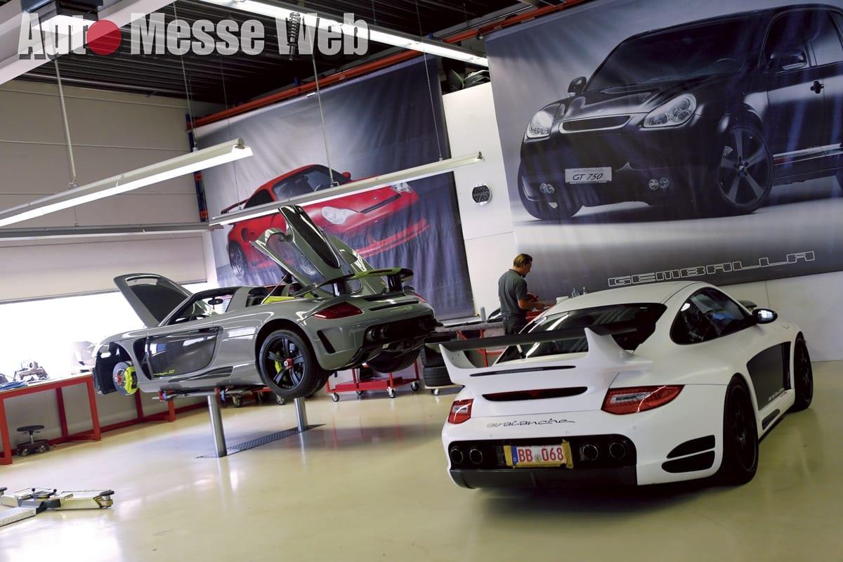ゲンバラ、ポルシェチューナー、ウーヴェゲンバラ、ミストラーレ、GTコンセプト、アヴァランシェ