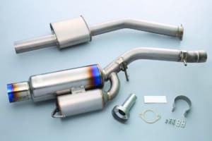 第2世代GT-R用「フルチタンマフラー」に車検対応モデル登場!究極の排気効率と軽量化を両立