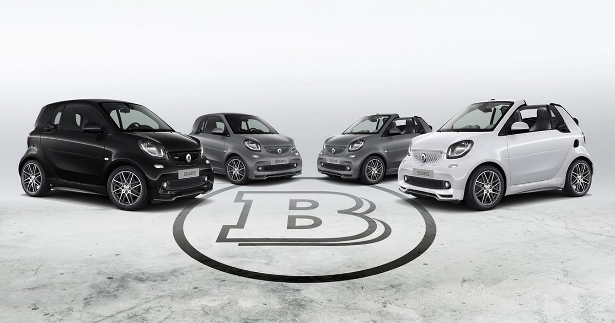 BRABUS創業者の想いを宿した「スマート20周年特別仕様車」 325万円〜