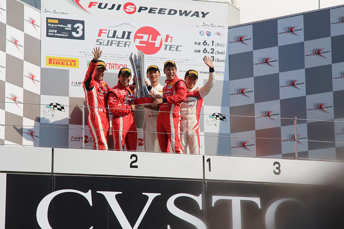 完璧なレースを組み立てた「Y's distraction GTNET GT-R」が10年ぶりの24時間制覇
