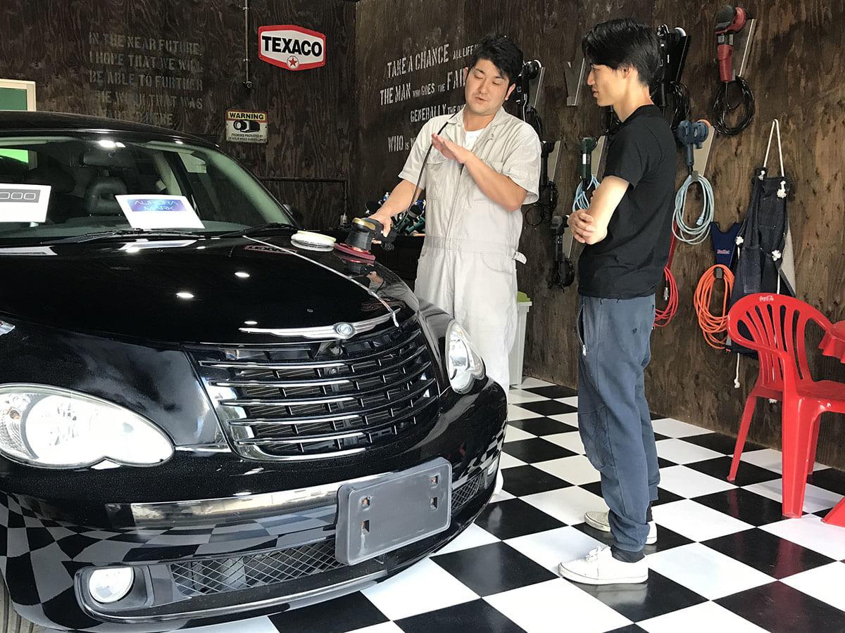 日本初!! クルマ磨きを体験する工具専門店「BULLET」がオープン