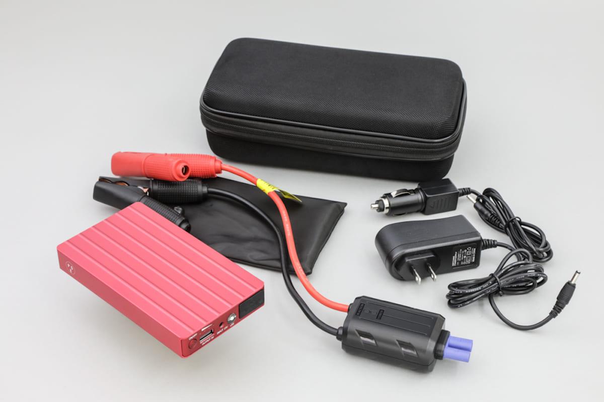 万一のバッテリーあがりから災害時まで役立つBELLOF「バッテリーチャージャー」